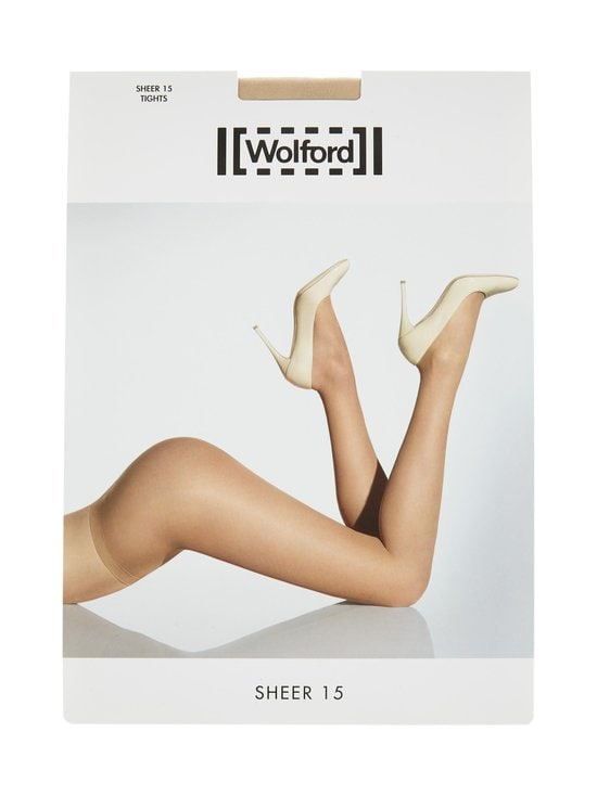 Wolford - Sheer 15 den -sukkahousut - COSMETIC | Stockmann - photo 1