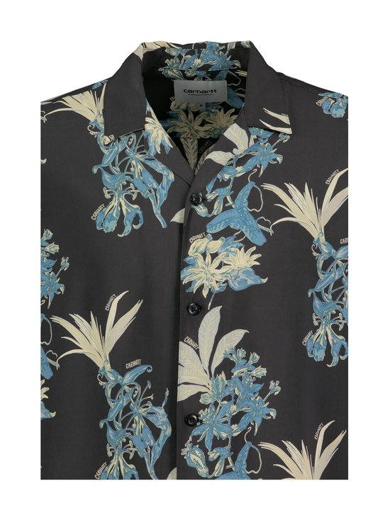 Carhartt WIP - Hawaiian Floral Shirt -kauluspaita - HAWAIIAN FLORAL PRINT, BLACK | Stockmann - photo 3