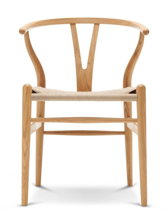 Carl Hansen&Son - CH 24 Wishbone -tuoli - ÖLJYTTY TAMMI   Stockmann - photo 1