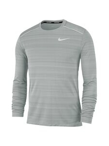 Nike - Miler Dri-FIT -juoksupaita - 084 SMOKE GREY/HTR/REFLECTIVE SILV | Stockmann