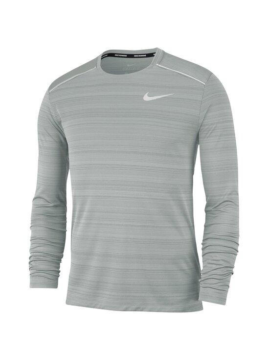 Nike - Miler Dri-FIT -juoksupaita - 084 SMOKE GREY/HTR/REFLECTIVE SILV | Stockmann - photo 1