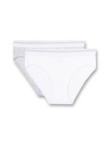 Sanetta - Rioslip-alushousut 2-pack - 10 WHITE | Stockmann