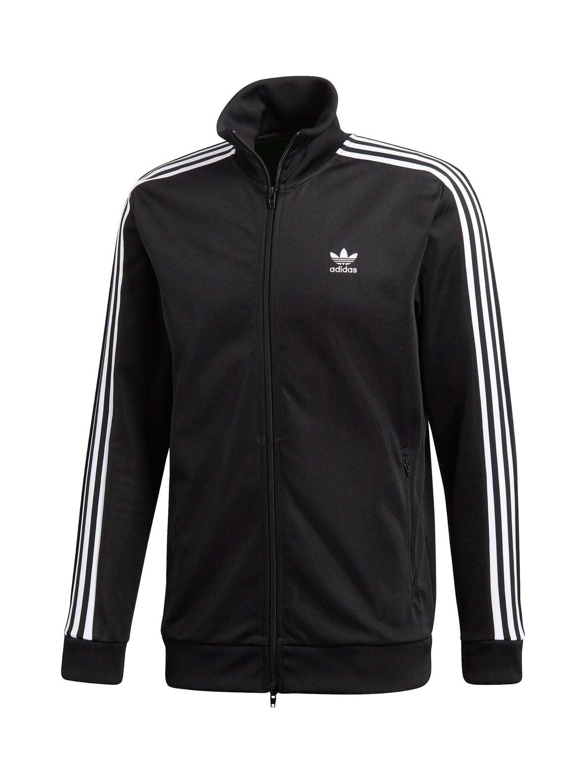 Black Adidas Originals Beckenbauer Track -takki CW1250  c23a925358