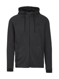 Under Armour - Unstoppable Double Knit Full Zip -hupparitakki - BLACK | Stockmann