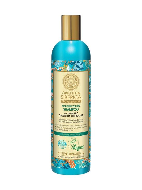Natura Siberica - Organic Oblepikha Hydrolate For All Hair Types -shampoo 400 ml   Stockmann - photo 1