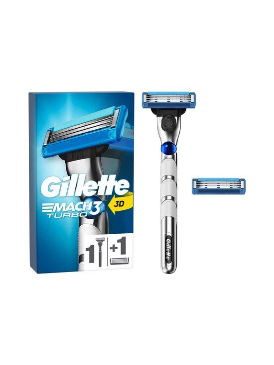 Gillette - Turbo handle + 2 blades -partahöylä + 2 vaihtoterää - NOCOL | Stockmann - photo 1