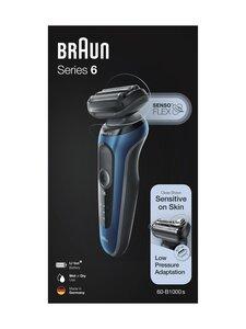 Braun - Series 6 60-B1000s -parranajokone - BLACK | Stockmann