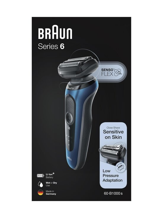 Braun - Series 6 60-B1000s -parranajokone - BLACK | Stockmann - photo 1