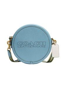 Coach - Kia Circle Bag In Colorblock -nahkalaukku - B4/AZURE MULTI | Stockmann