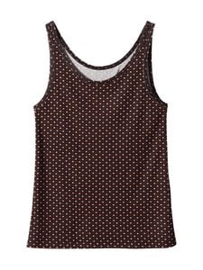 Essenza - Noisa Circle Mini Sleeveless -toppi - ESPRESSO | Stockmann