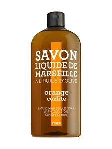 Terra - Marseille-nestesaippua, appelsiini 1000 ml | Stockmann