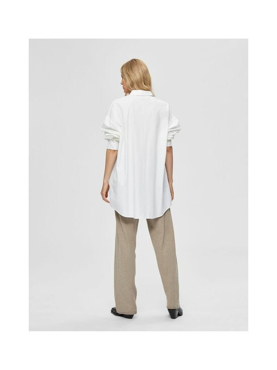 Selected - SlfLali LS Pocket Shirt -paitapusero - BRIGHT WHITE | Stockmann - photo 2