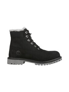 Timberland - 6-inch Premium Waterproof Shearling Lined Junior -nahkakengät - BLACK | Stockmann