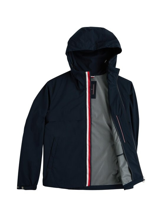 Tommy Hilfiger - Lightweight Hooded Jacket -takki - DW5 DESERT SKY | Stockmann - photo 5