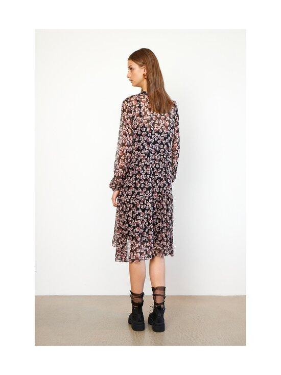 SECOND FEMALE - Fleurir Dress -mekko - 8001 BLACK | Stockmann - photo 4
