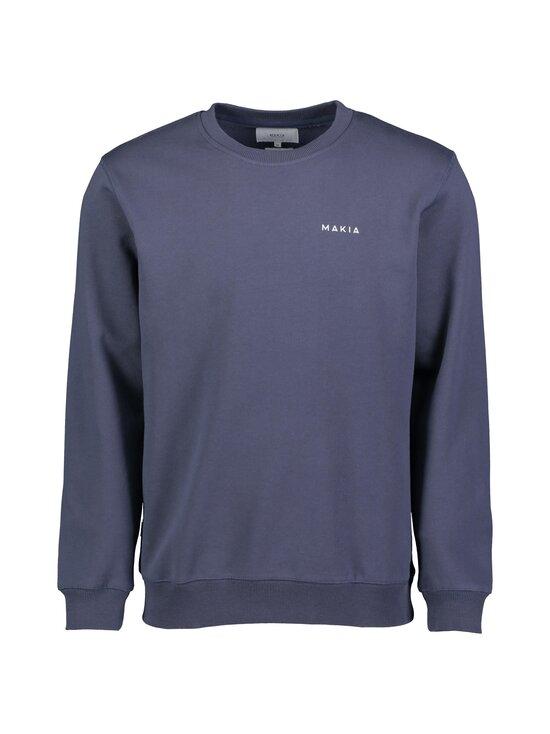 Makia - Trim Sweatshirt -collegepaita - 661 DARK BLUE | Stockmann - photo 1