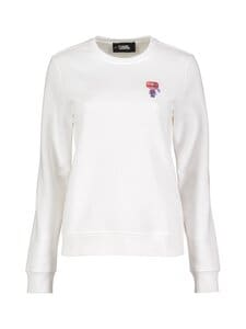Karl Lagerfeld - Mini 3D Karl Sweatshirt -paita - WHITE   Stockmann