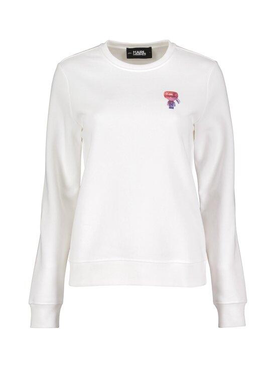 Karl Lagerfeld - Mini 3D Karl Sweatshirt -paita - WHITE   Stockmann - photo 1