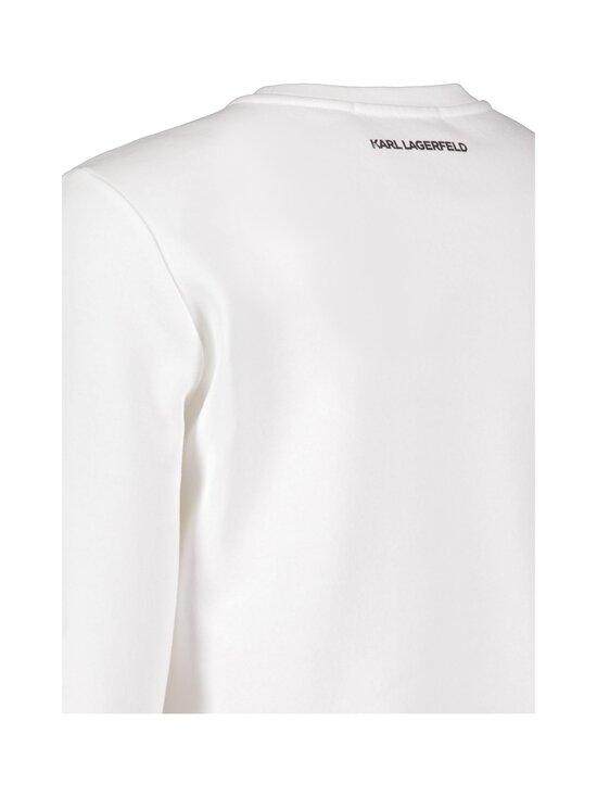 Karl Lagerfeld - Mini 3D Karl Sweatshirt -paita - WHITE   Stockmann - photo 4