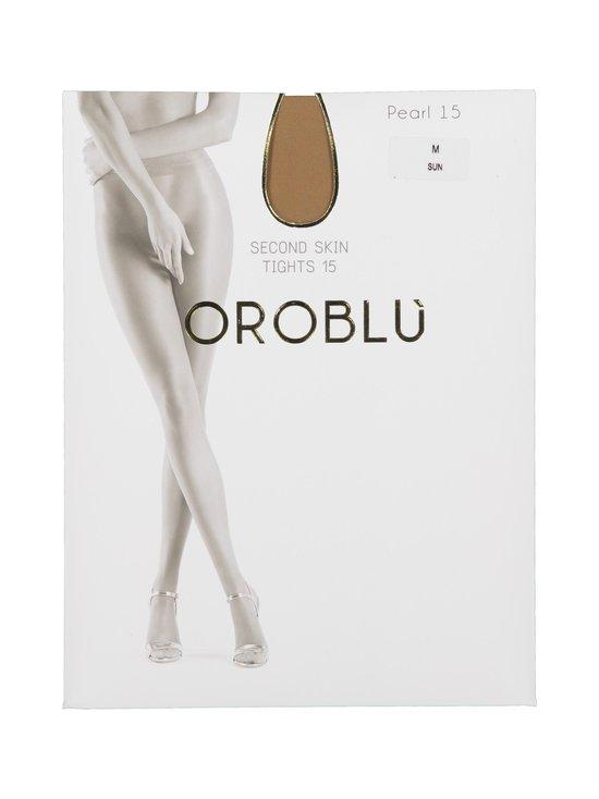 Oroblu - Tights Pearl 3D 15 den -sukkahousut - SUN | Stockmann - photo 1