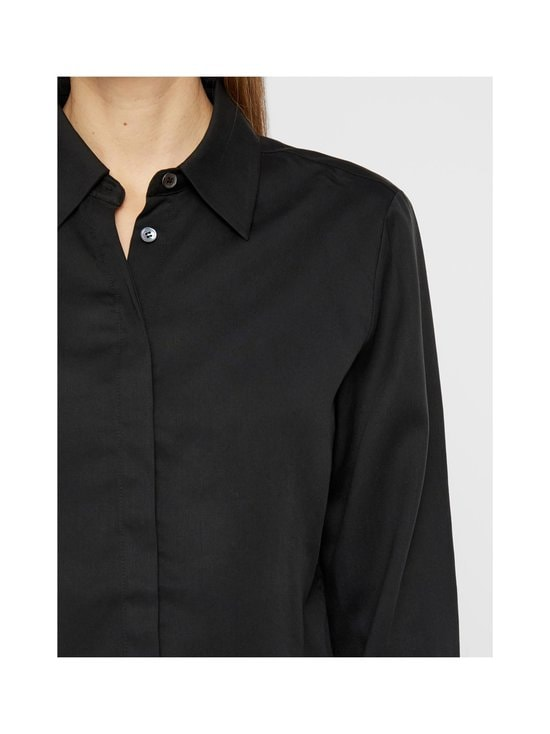 J.Lindeberg - Mallory Cropped Shirt -paitapusero - 9999 BLACK | Stockmann - photo 7