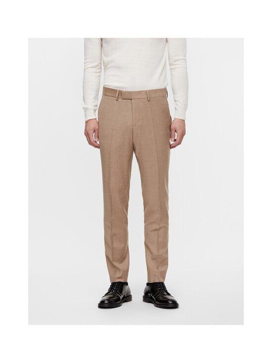 J.Lindeberg - Grant Flannel Trousers -puvunhousut - E089 SAND BEIGE   Stockmann - photo 3