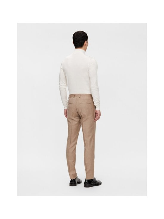 J.Lindeberg - Grant Flannel Trousers -puvunhousut - E089 SAND BEIGE   Stockmann - photo 4