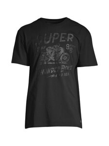 Superdry - Boho Box Fit Graphic Tee -paita - OWW BLACK OUT | Stockmann