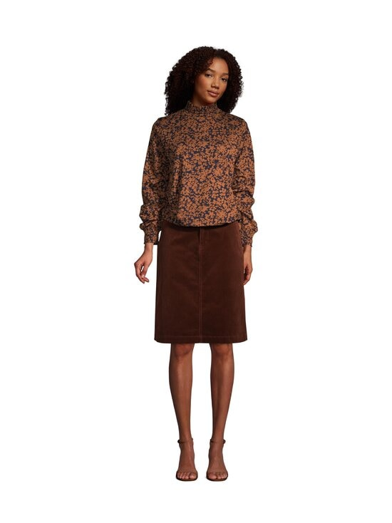 NOOM - Rania-vakosamettihame - MID BROWN | Stockmann - photo 4