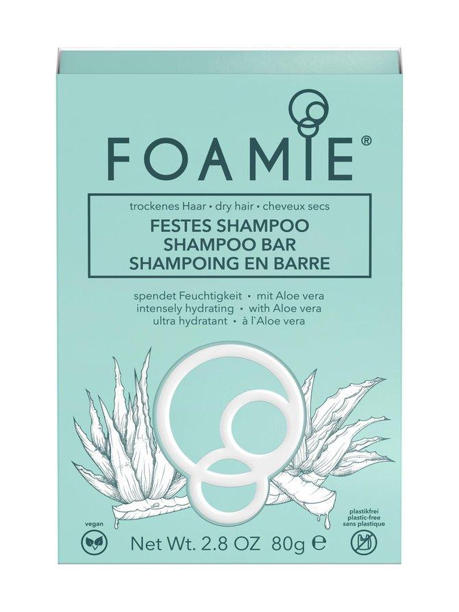 Shampoo Bar Aloe You Vera Much -palashampoo 80 g