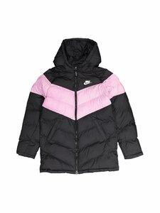 Nike - Sportswear Long Jacket -toppatakki - BLACK/LT ARCTIC PINK/BLACK/WHITE | Stockmann