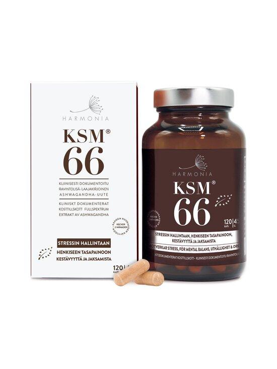 Harmonia - KSM66 Luomu (DK-ÖKO-100) -ravintolisä 120 kaps. - NOCOL | Stockmann - photo 1
