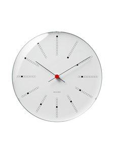 Arne Jacobsen - AJ Bankers -seinäkello 29 cm - WHITE | Stockmann