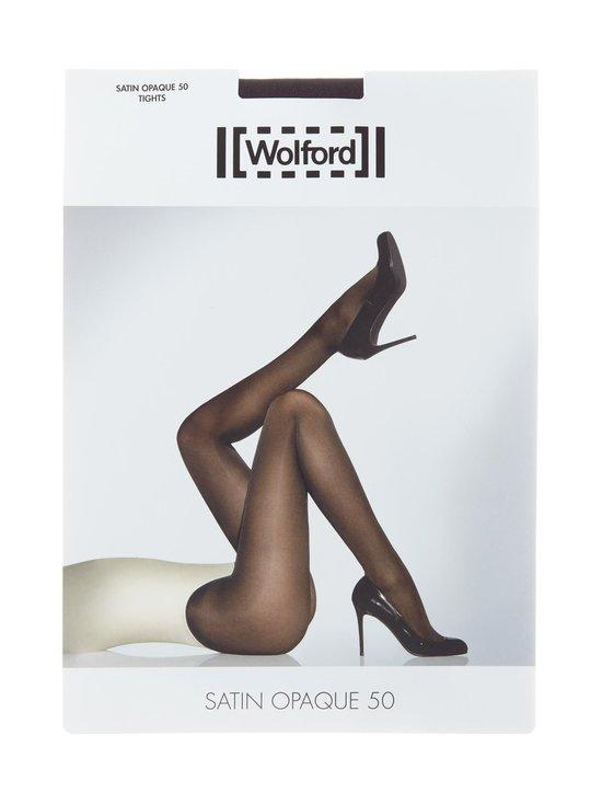 Wolford - Satin Opaque 50 den -sukkahousut - BLACK (MUSTA) | Stockmann - photo 1