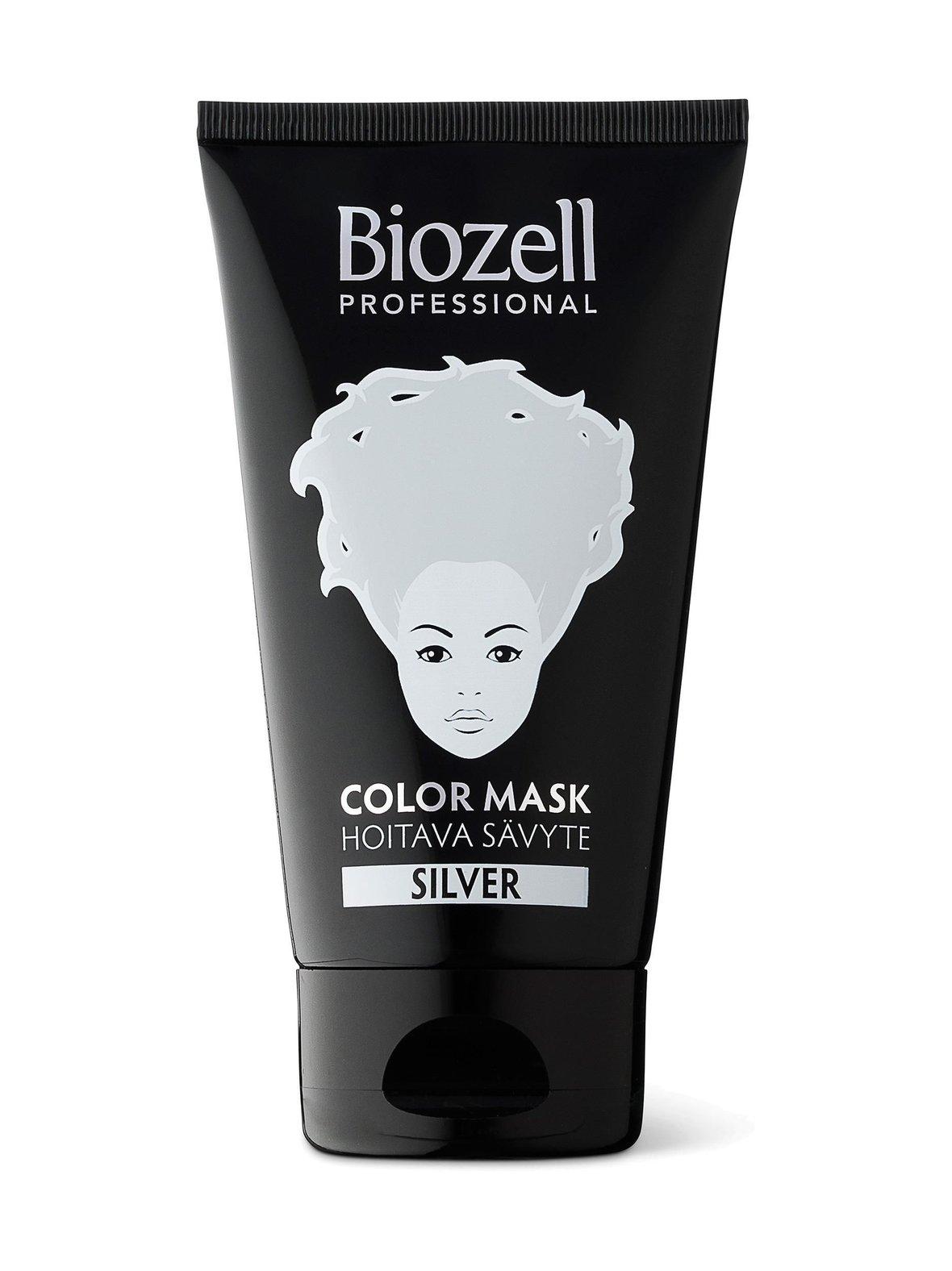 silver (hopea) biozell color mask silver -sävyte 150 ml | 150 ml