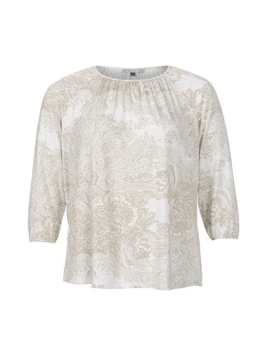 cut & pret PLUS - Carly-paita - BEIGE/OFFWHITE PAISLEY | Stockmann - photo 1