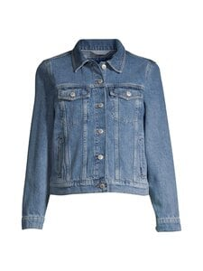 GANT - Indigo Jeans Jacket -farkkutakki - 982 SEMI LIGHT BLUE BROKEN IN | Stockmann