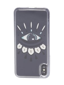 Kenzo - Eye Case for iPhone XS Max -suojakuori - 97DARK GREY | Stockmann