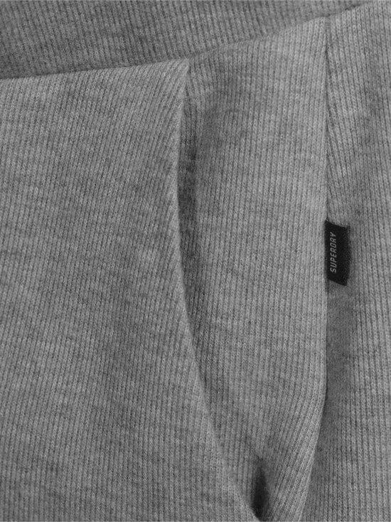 Superdry - Soft Rib Wide Leg Jogger -housut - 07Q GREY MARL   Stockmann - photo 4