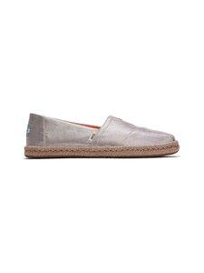 Toms - Alpargata Rope Shimmery -kengät - 650 TAUPE | Stockmann