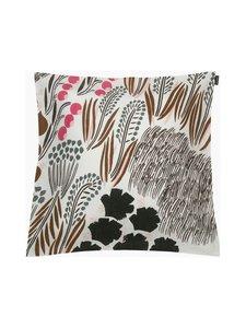 Marimekko - Letto-tyynynpäällinen 50 x 50 cm - 180 OFF WHITE, BROWN, GREEN | Stockmann