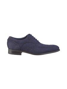 Ted Baker London - Pellan Nubuck Brogue Shoe -nahkakengät - 10 NAVY | Stockmann