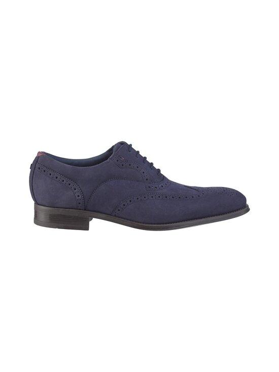 Ted Baker London - Pellan Nubuck Brogue Shoe -nahkakengät - 10 NAVY | Stockmann - photo 1