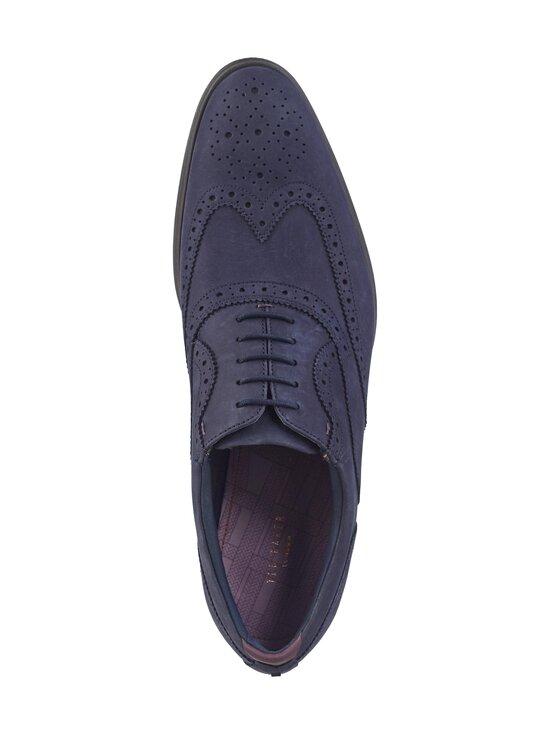 Ted Baker London - Pellan Nubuck Brogue Shoe -nahkakengät - 10 NAVY | Stockmann - photo 2