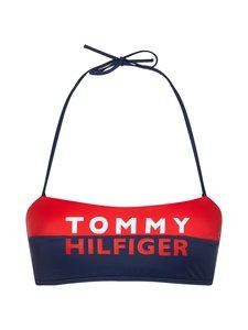 Tommy Hilfiger - Colour-Blocked Bandeau -bikiniyläosa - XL7 RED GLARE   Stockmann