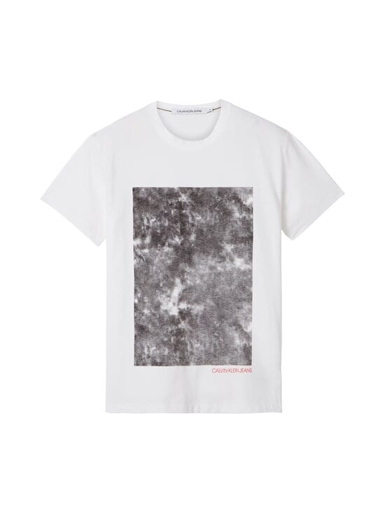 Calvin Klein Jeans - Cloud Photoprint Tee -paita - YAF BRIGHT WHITE   Stockmann - photo 1