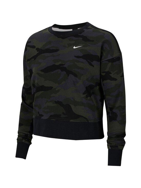 Nike - Dri-FIT Get Fit Crew -collegepaita - 082 THUNDER GREY/WHITE | Stockmann - photo 1