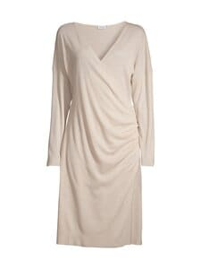 Filippa K - Leonie Wrap Dress -mekko - 9062 SOFT BEIGE | Stockmann