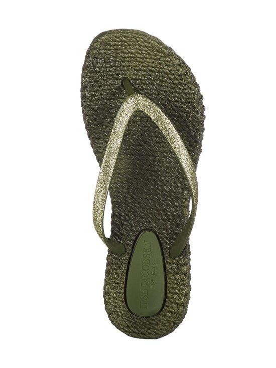 ILSE JACOBSEN - Flip-Flops With Glitter -sandaalit - 410 ARMY | Stockmann - photo 2