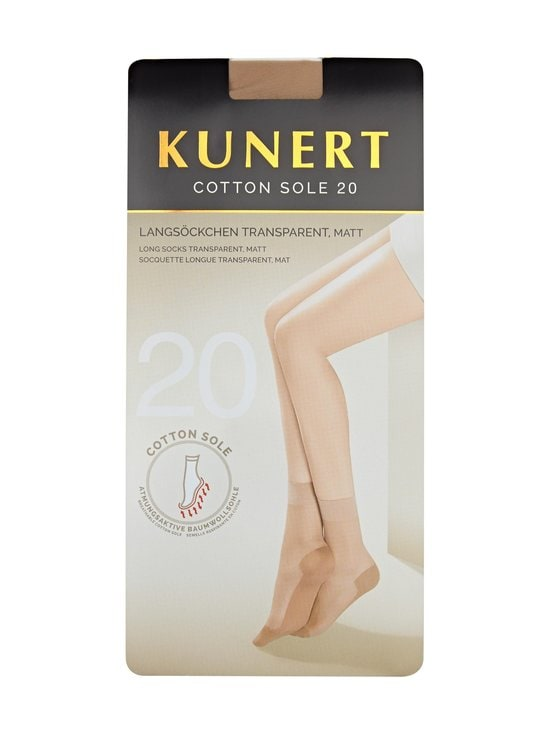 Kunert - Cotton Sole 20 den -nilkkasukat - TEINT | Stockmann - photo 1